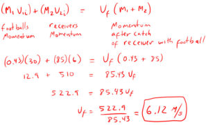 Conservation of Momentum Example 3