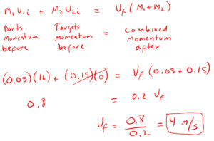 Conservation of Momentum Example 5