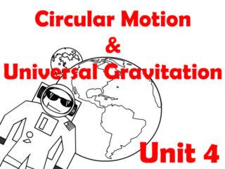 Circular Motion and Universal Gravitation