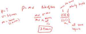 Example 2 Impulse and Momentum