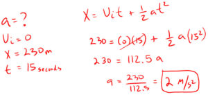 Example 3 Acceleration
