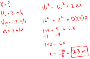 Example 4 Acceleration