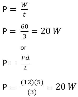 power example 2