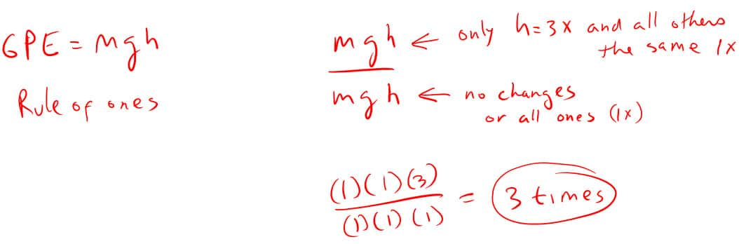 Example 4 Mechanical Energy Solution