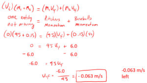 Consevation of Momentum Example 2