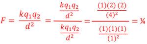 Electrostatics Example Problem 1