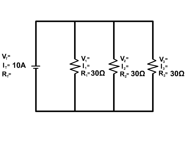 Parallel Circuit Example 4