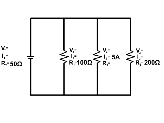 Parallel Circuit Example 6