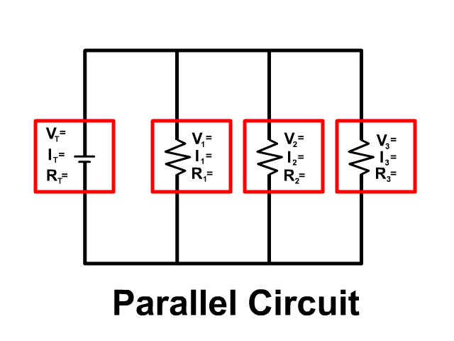 Parallel Circuit Rules and Ohm's Law