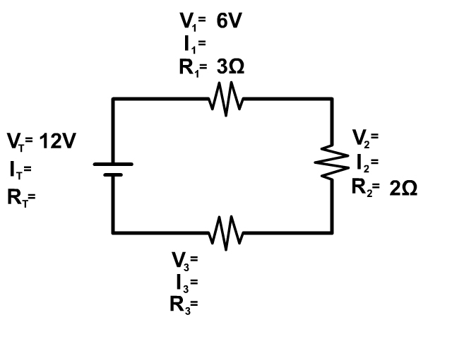 Example Series Circuit Problem 2
