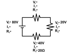 Series Circuit Example 4