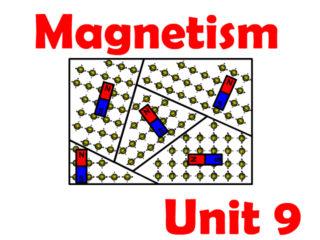 Unit 9 Magnetism