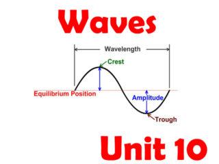 Waves Unit 10